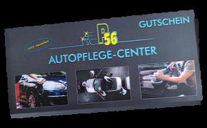 Geschenkgutschein Autopflege Center P56